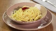 Pasta con aglio e olio