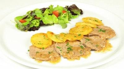 Rosticciata di carne e patate