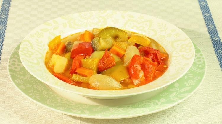 Cianfotta a minestra