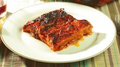 Parmigiana di melanzane tipica napoletana