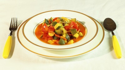 Minestra di zucchine paesane