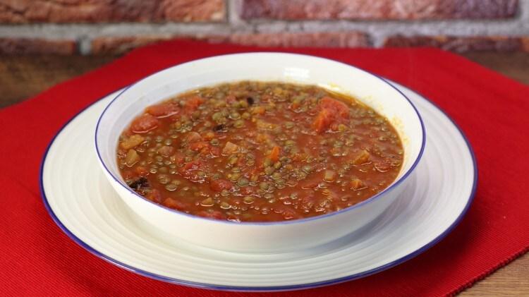 Zuppa di lenticchie molisana