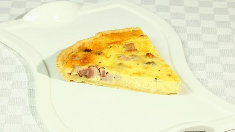 Quiche lorraine tradizionale francese