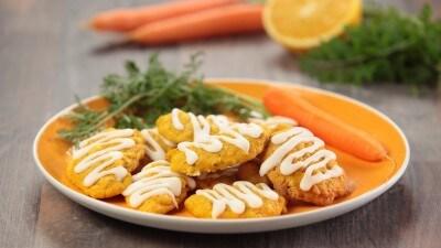 Biscotti alle carote e arance