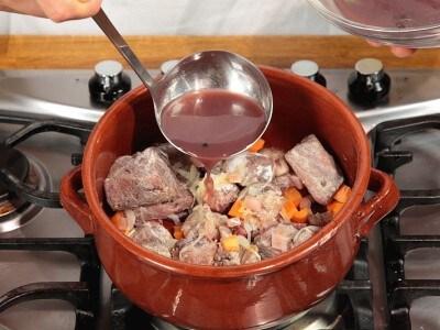 Spezzatino di manzo in salsa