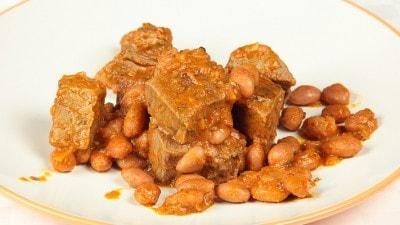 Umido di manzo con fagioli