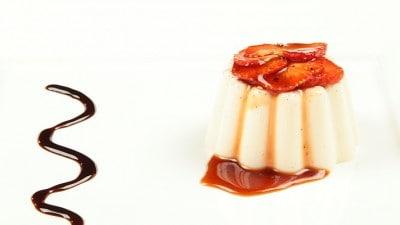 Topping fragole e aceto balsamico
