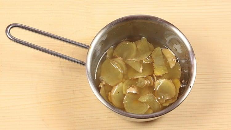 Salsa allo zenzero
