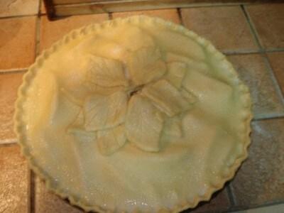 how to cook an unfrozen apple pie