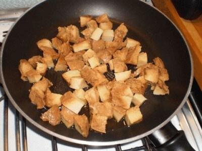 Crostini di grano di Chiaragiubbo