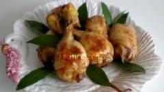 Coscette di pollo alla birra scura