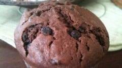 Muffins stra-cioccolatosi con panna acida di guadalupe