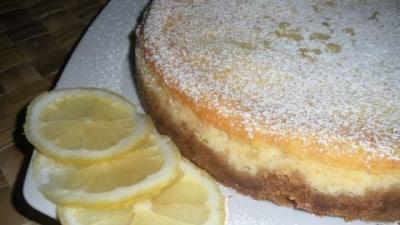 Chesecake al limone