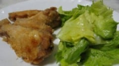 Alette di pollo fritte all'americana