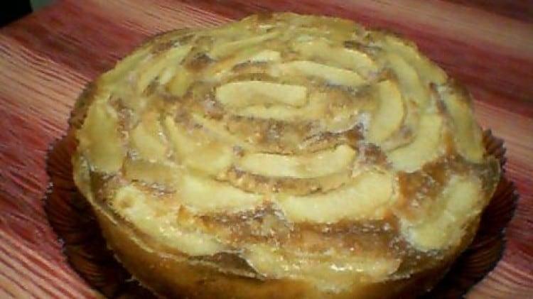 La mia torta di mele leggera