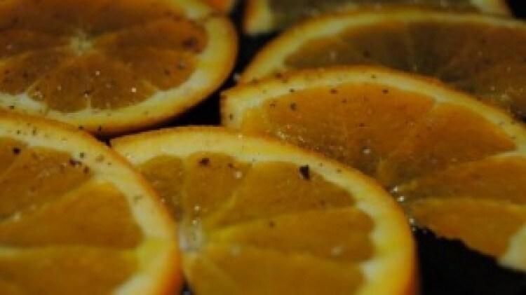 Arance con olio sale pepe di Vero89