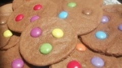 Biscotti con Smarties