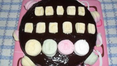 Torta Rocher con marshmallow