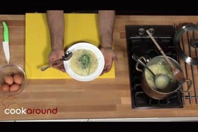 Pasta casa e uova