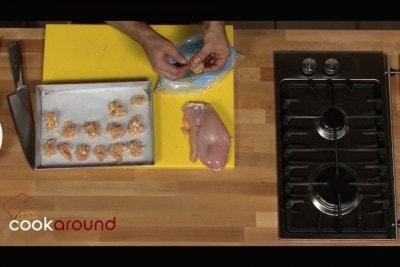 Petto di pollo con patatine