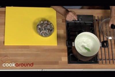 Spiedini Gamberi e Avocado Spiedini Con Melone Gamberi e