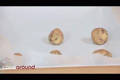 Cookies con cioccolato