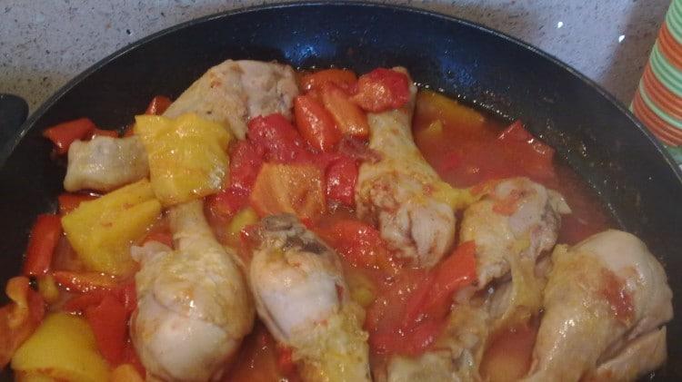 Pollo ai peperoni ... semplicemente divino