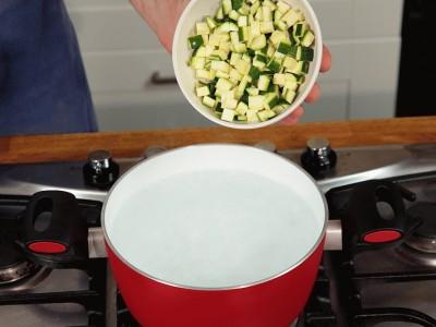 Tagliatelle con zucchine