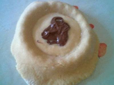 Crostatine crema-nutella