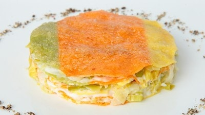 Lasagne ai porri