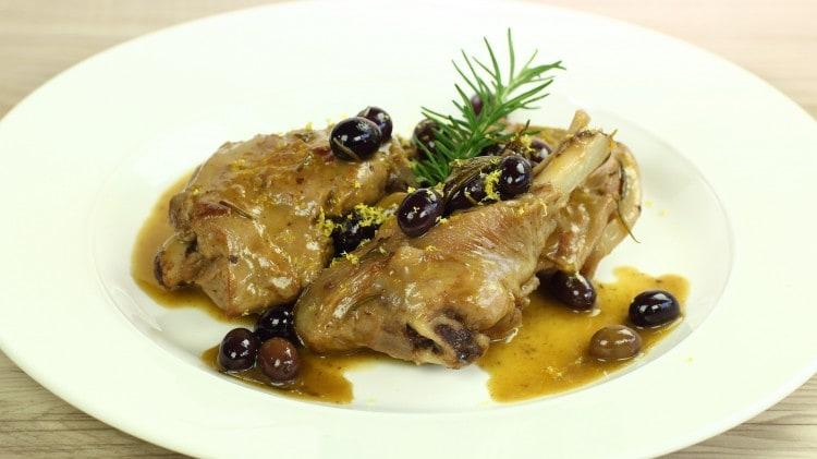 Agnello alle olive taggiasche.