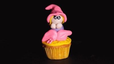 Cupcake con folletto