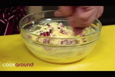 Sformatino di zucchine, ricotta e pancetta