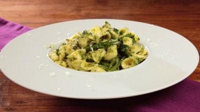 Orecchiette con le cime di rapa e broccoli