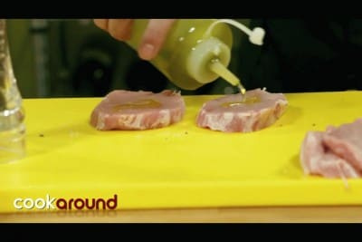 Filetto di maiale con verdurine di stagione