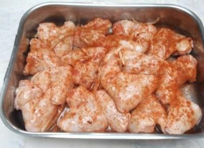 Ali di pollo in Salsa ketchup al forno!!!