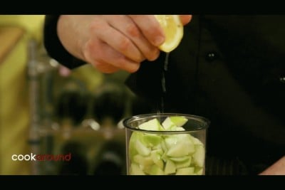 Gelato alla mela verde
