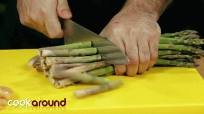 Involtini di pollo con asparagi