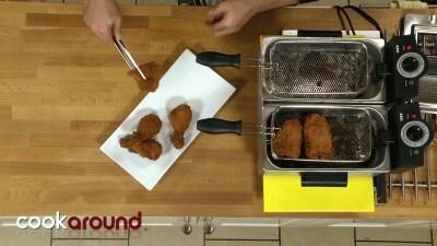 Pollo fritto stile fast food