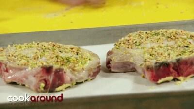 Bistecchine di maiale gratinate