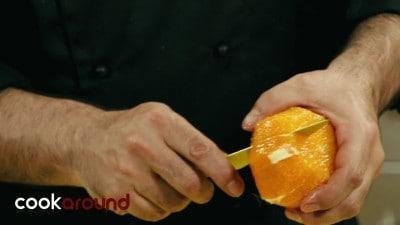 Insalata di arance, finocchi e olive nere
