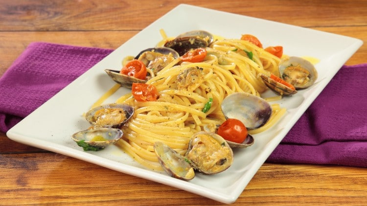 Linguine a vongole Amedeo