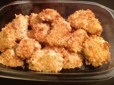 Pepite di pollo croccanti