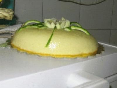 Dessert leggero all' ananas