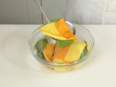 Cannelloni tricolore ragù e patate