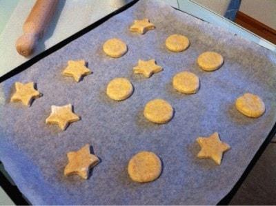 Biscotti alla ricotta al profumo di arancia