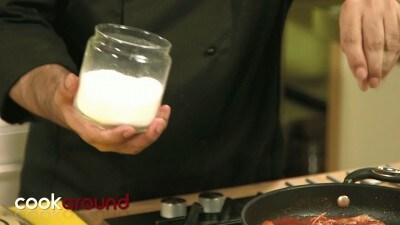 Paccheri con guazzetto di crostacei