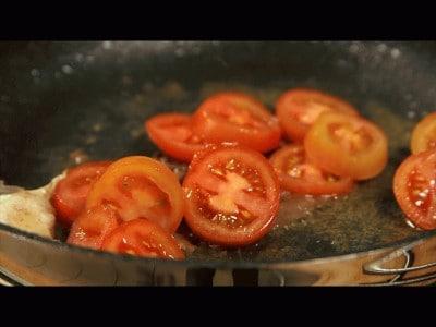 Parago al cartoccio con olive taggiasche