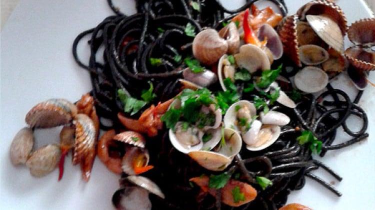 Ricetta pasta con nero di seppia