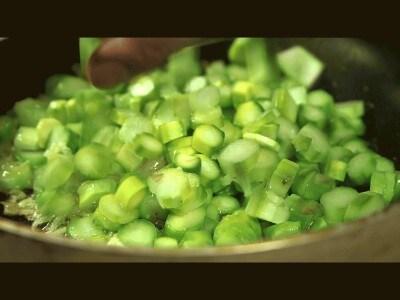 Risotto asparagi e gamberi